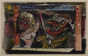 Punch and Judy circa 1945 James Boswell 1906-1971 Presented by Ruth Boswell, the artist's widow 1982 http://www.tate.org.uk/art/work/T03462